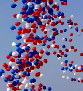 Not My photo as We DON'T do balloon releases