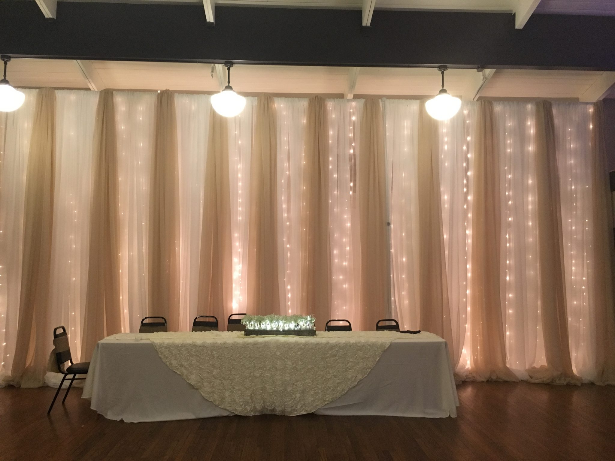Knoxville Wedding Decor Fabric Draping Wedding Themes