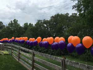 161 Balloons in remembrance of Pat Summitt's 161 players