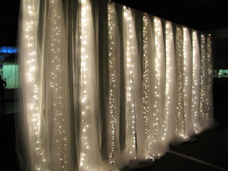 Led Lights For Wedding Decorations : Luxurious Fabric Draping for Weddings  Above the Rest Event Designs