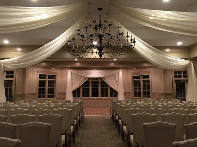 Diy Wall Draping For Weddings That Meet Interesting Decors: Knoxville Wedding Decor